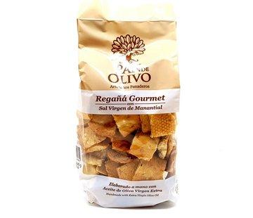 Pan de Olivo Tapas Crackers Regañas Flor de Sal