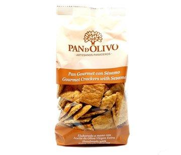 Pan de Olivo Tapas Crackers Regañas Sesam
