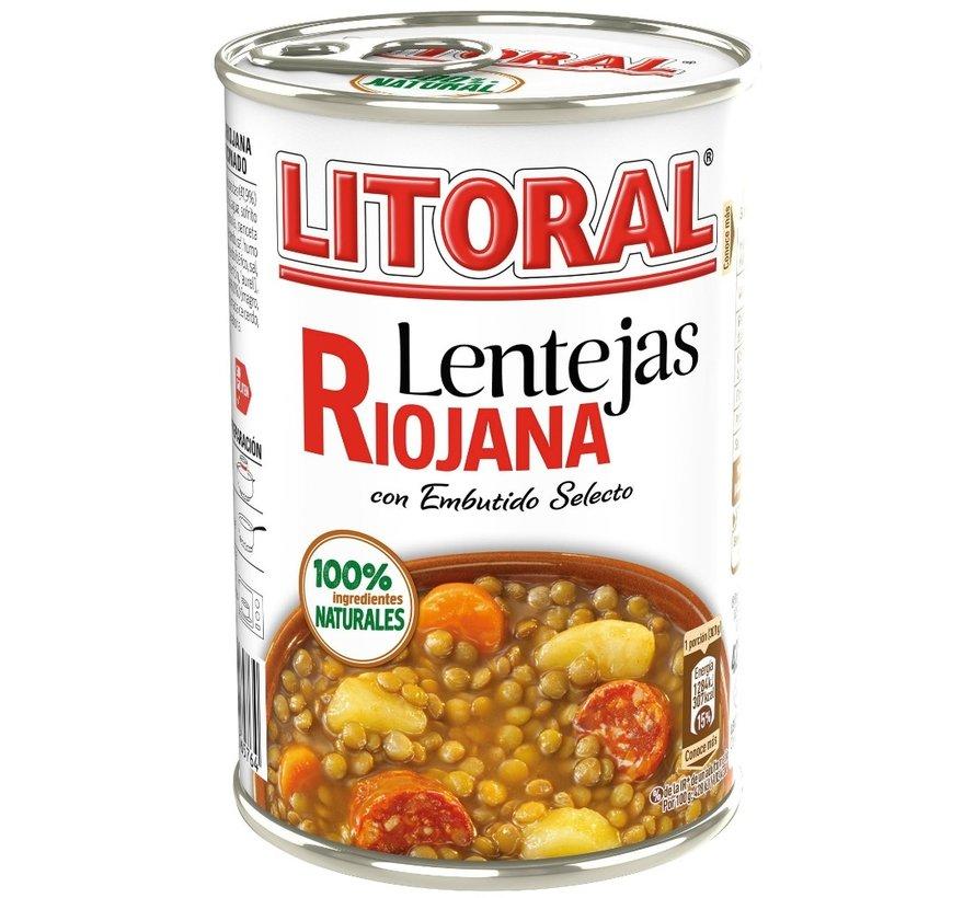 Lentejas Riojana