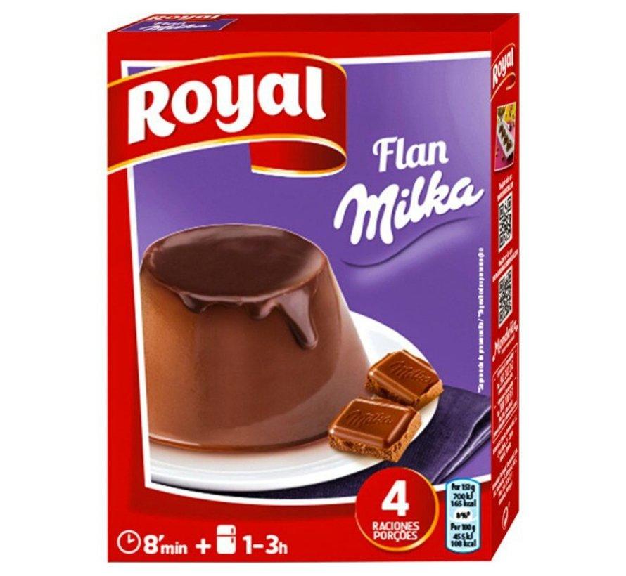 Flan Milka