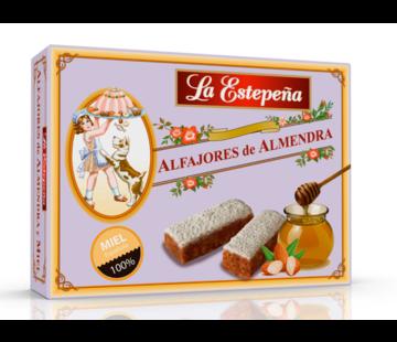 La estepena Alfajores de Almendra y miel