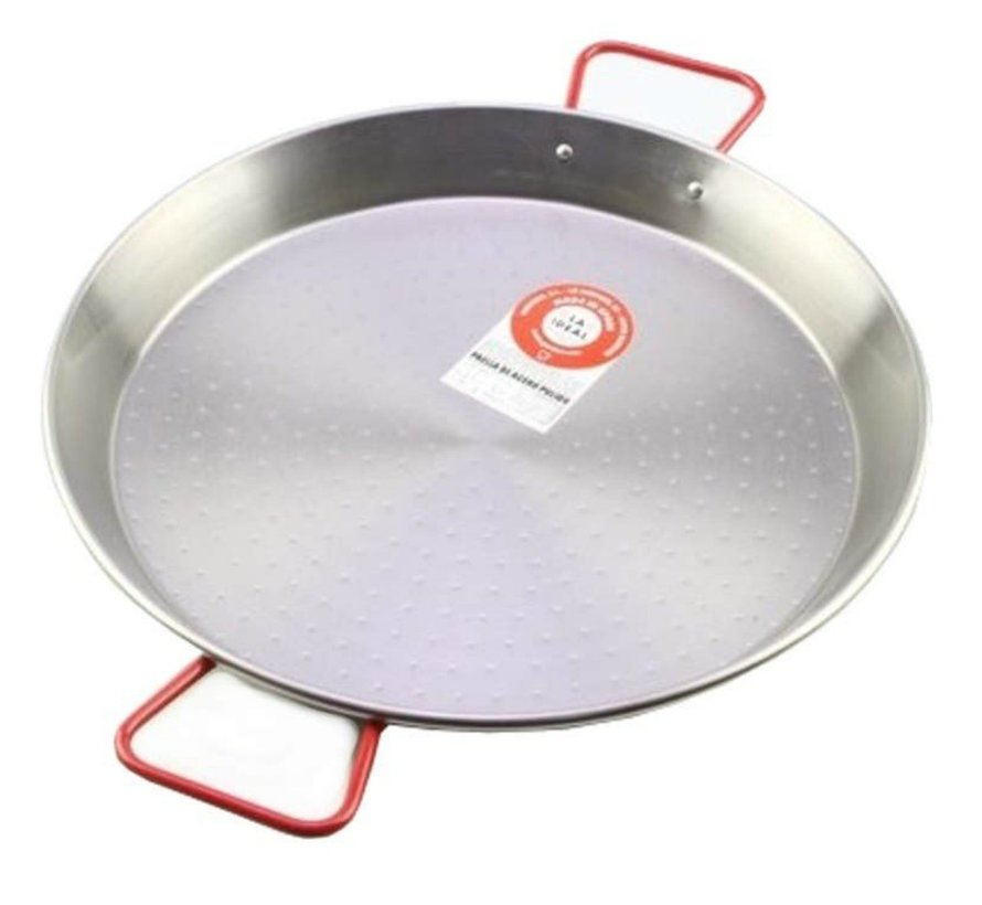 Paella Pan Staal 38 cm - 7 Pers