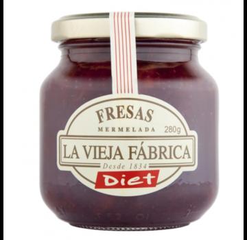 La Vieja Fabrica Dieet aardbei Jam