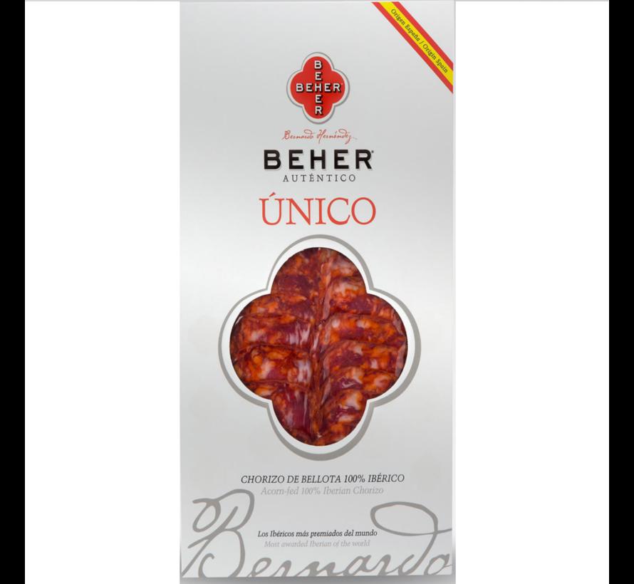 Chorizo Bellota  Pata Negra Sneetjes