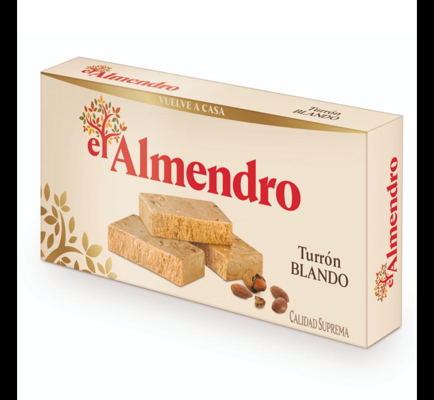 Turrón de Jijona (blando) El Almendro