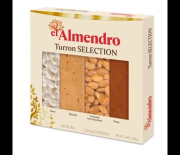 El almendro Turron Assortiment El Almendro 370gr