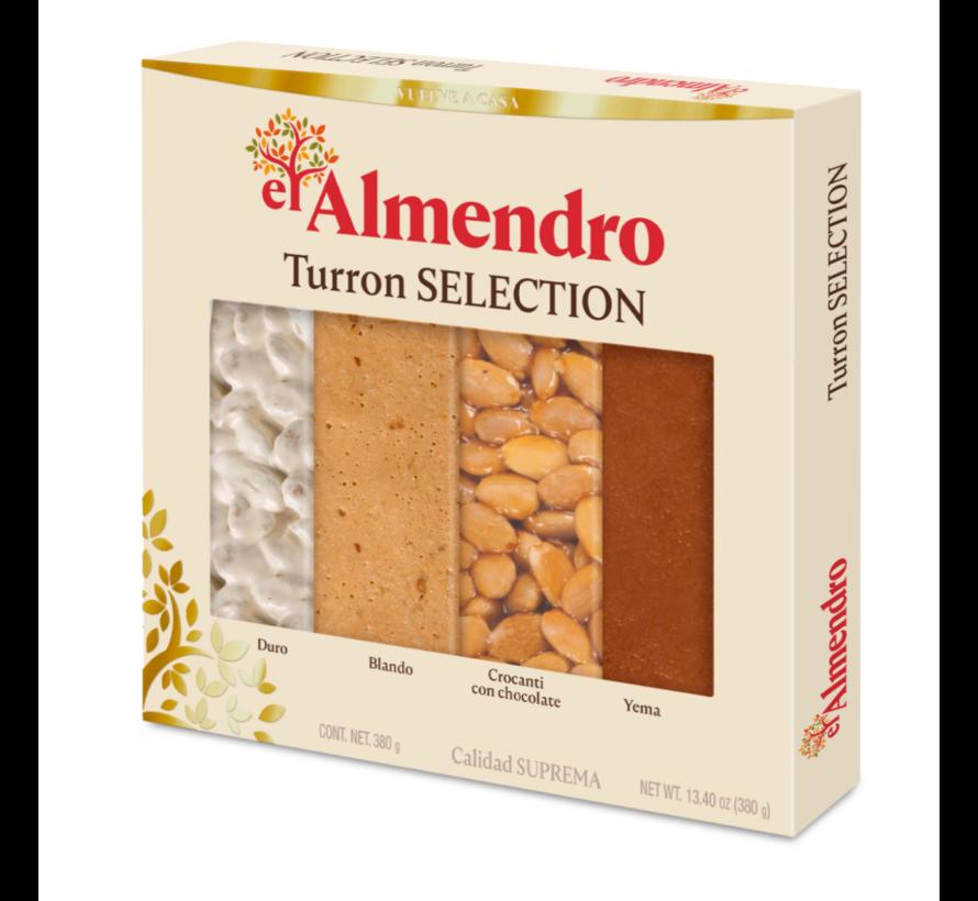 Turron Assortiment El Almendro 370gr
