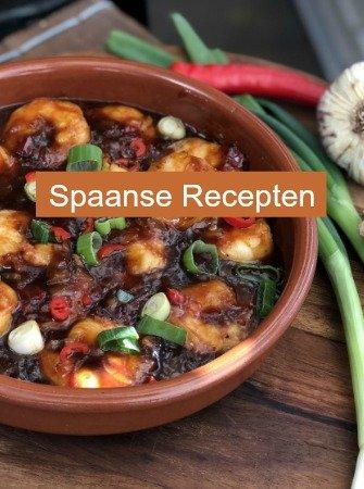 Spaanse Winkel met lekkere Spaanse producten en delicatessen