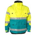 Rescuewear Midi-Parka, enamel/fluorgeel