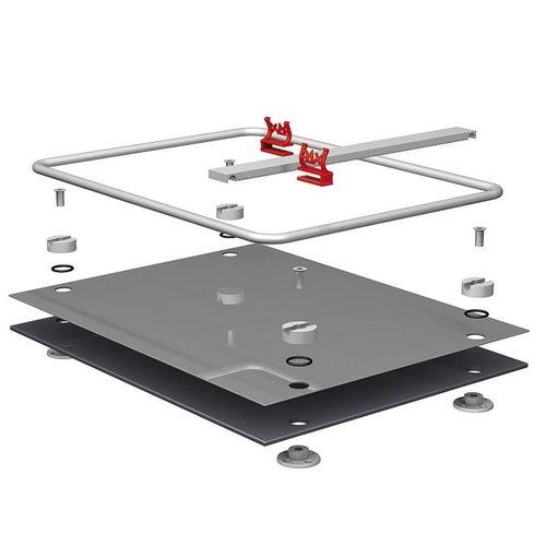 PAX Ampullen clip rail systeem