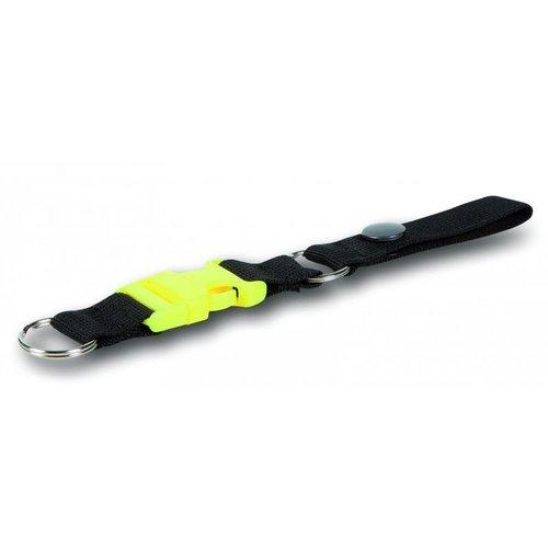 PAX Sleutel clip met koord en drukknoop