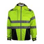 Rescuewear Softshell Dynamic, HiVis klasse 3,  Marineblauw/Neongeel
