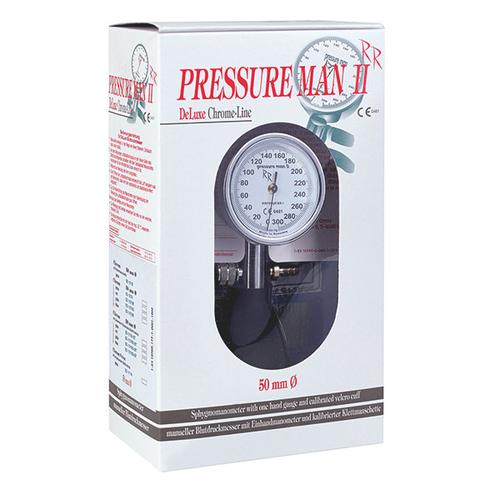 Bloeddrukmeter Pressure Man II Chrome-Line
