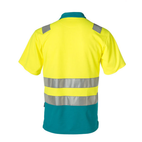 Rescuewear Poloshirt korte mouw enamel