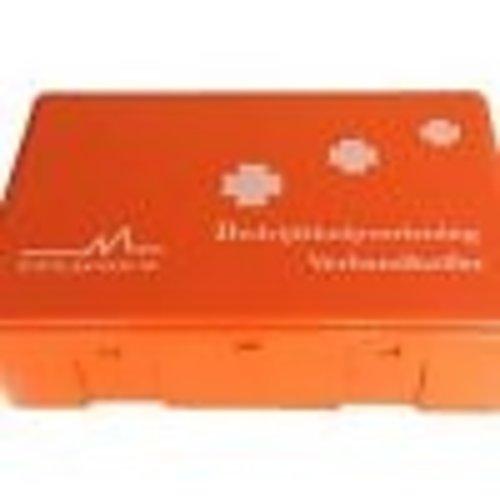Verbandkoffer Arvem met B inhoud kleur Oranje