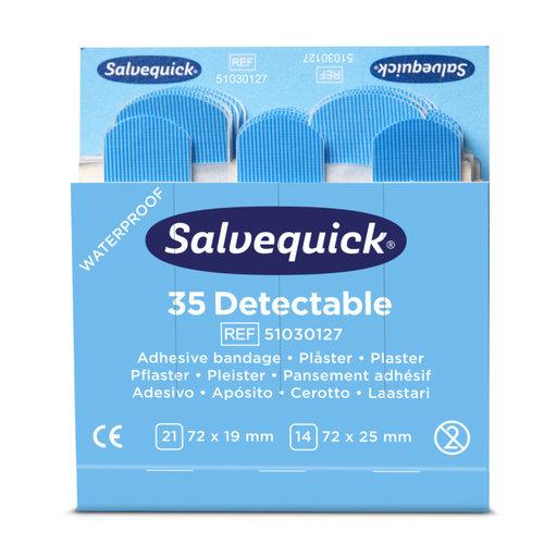 Navulling Salvequick detecteerbare pleisters (HACCP)