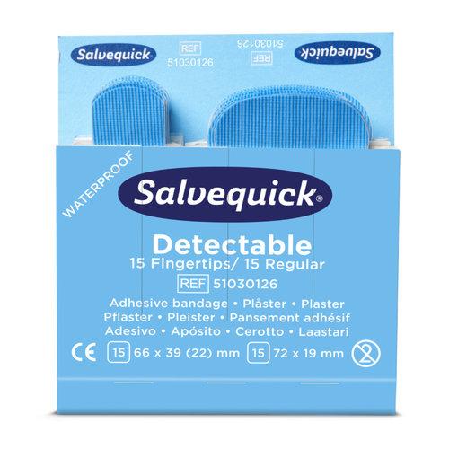Navulling Salvequick detecteerbare vingertop pleisters (HACCP)