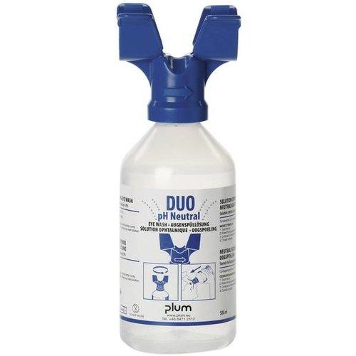 Plum PH Neutraal oogspoel fles 500 ml duo