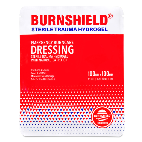 Burnshield Brandwond kompres 10 x 10 cm