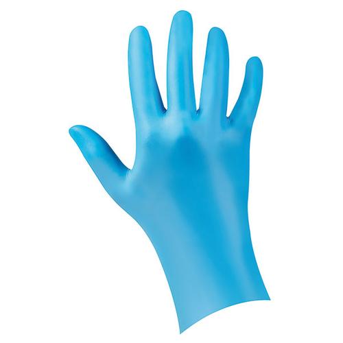 NOBA  Handschoenen softnitril NOBAGLOVE, blauw, poedervrij.