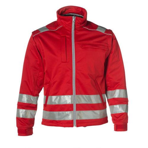 Rescuewear Softshell Jack , rood