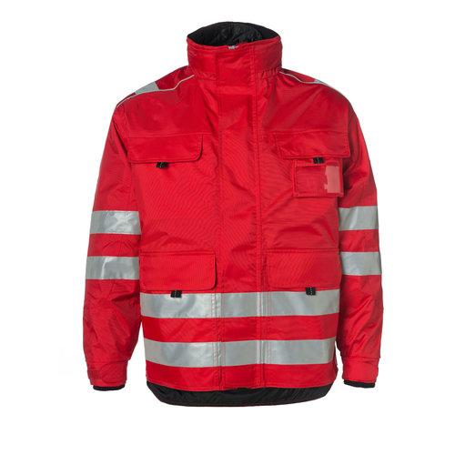 Rescuewear Midi Parka, Rood