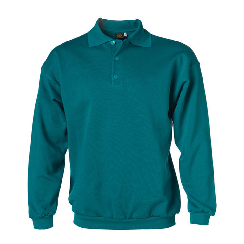 Rescuewear Polosweater Basic, Enamelblauw