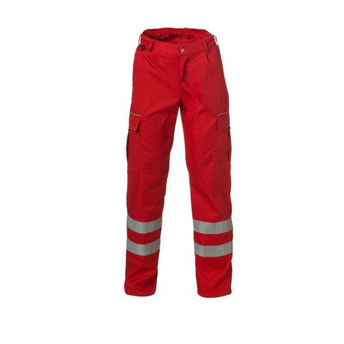 Rescuewear Unisex Broek Basic Rood