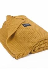 POOFI Dekentje Poofi Honeycomb knit - Honey