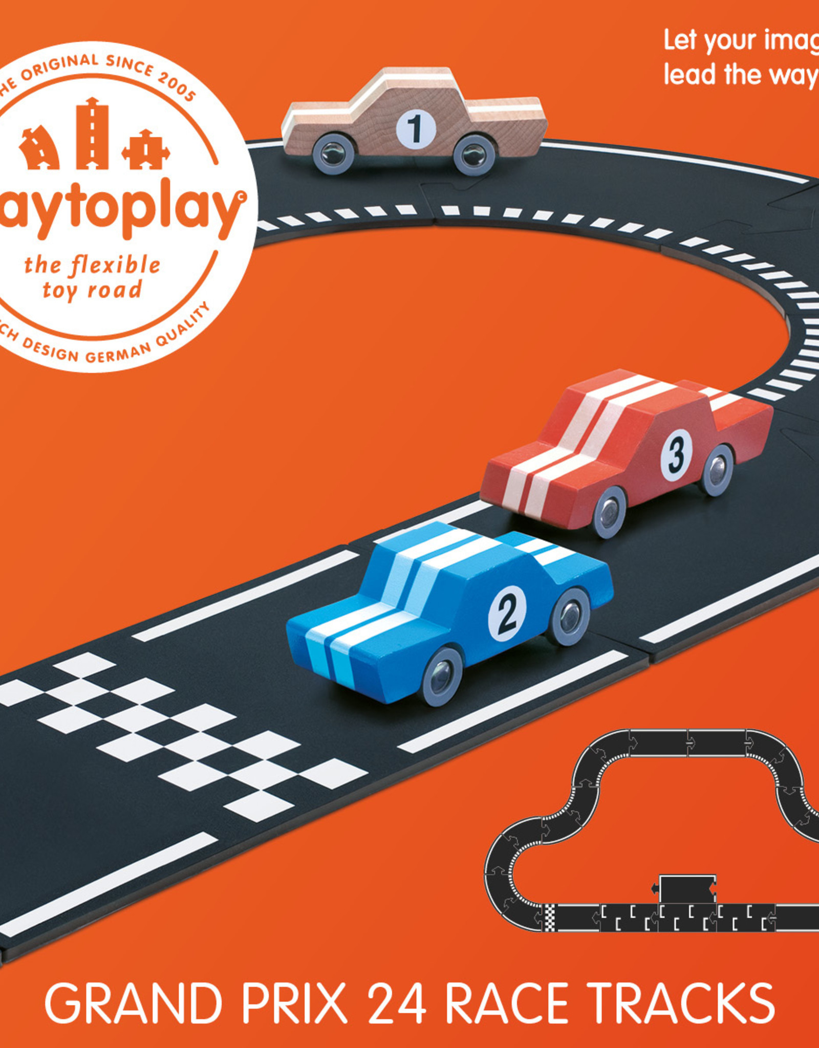 WAYTOPLAY Waytoplay - Grand Prix - 24 delen