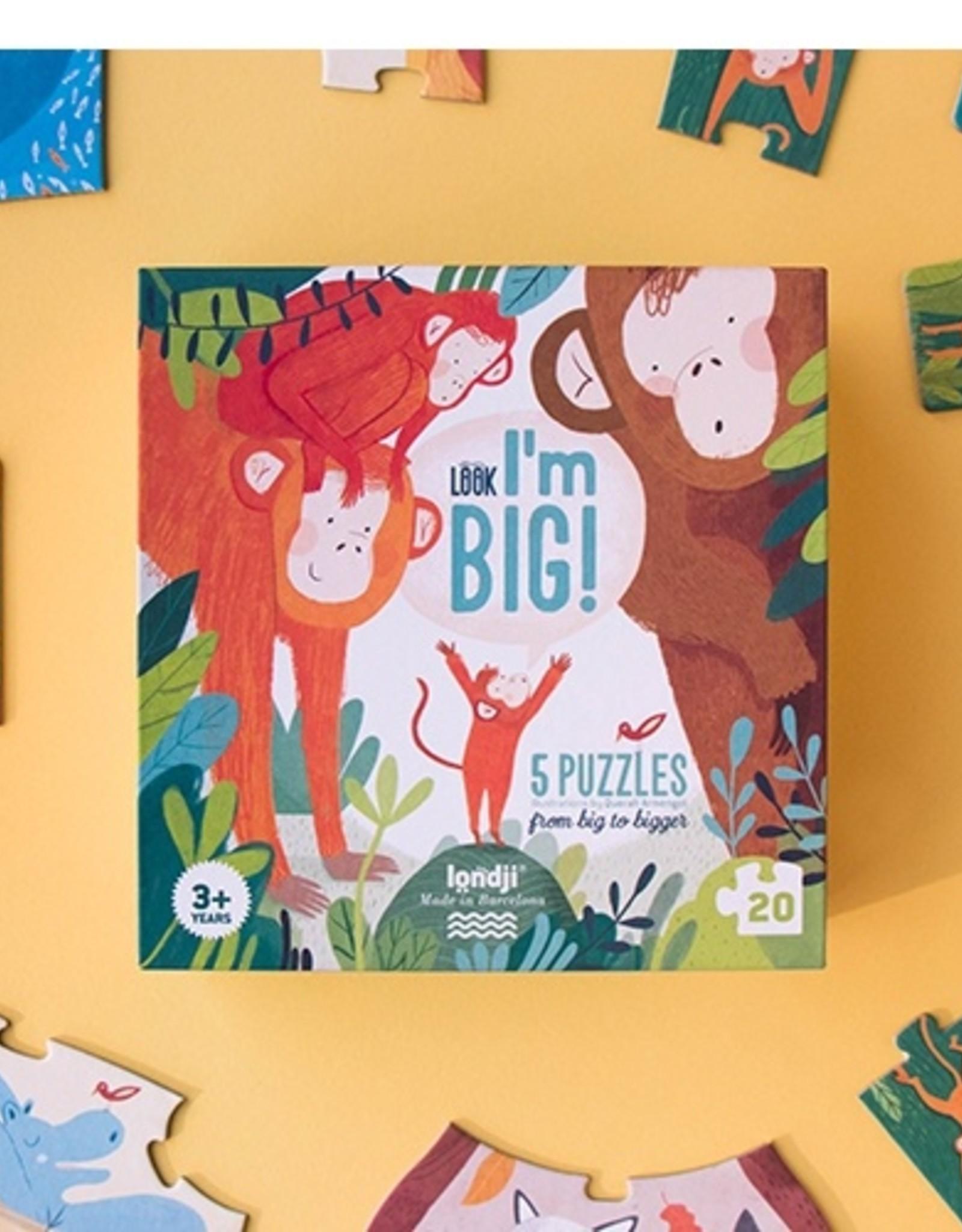 LONDJI BARCELONA Londji puzzel - Look! I'm big