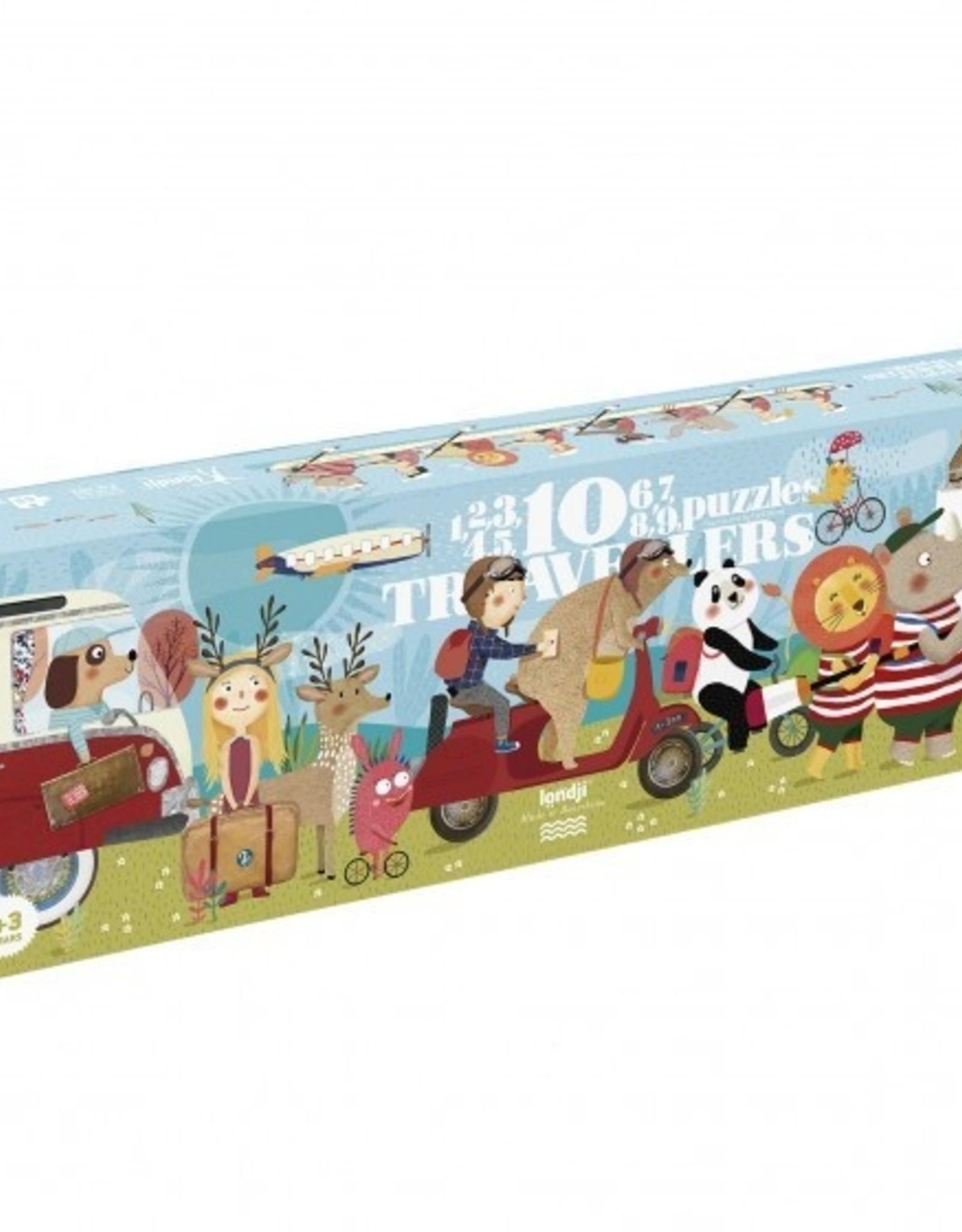LONDJI BARCELONA Londji puzzel - 10 travelers
