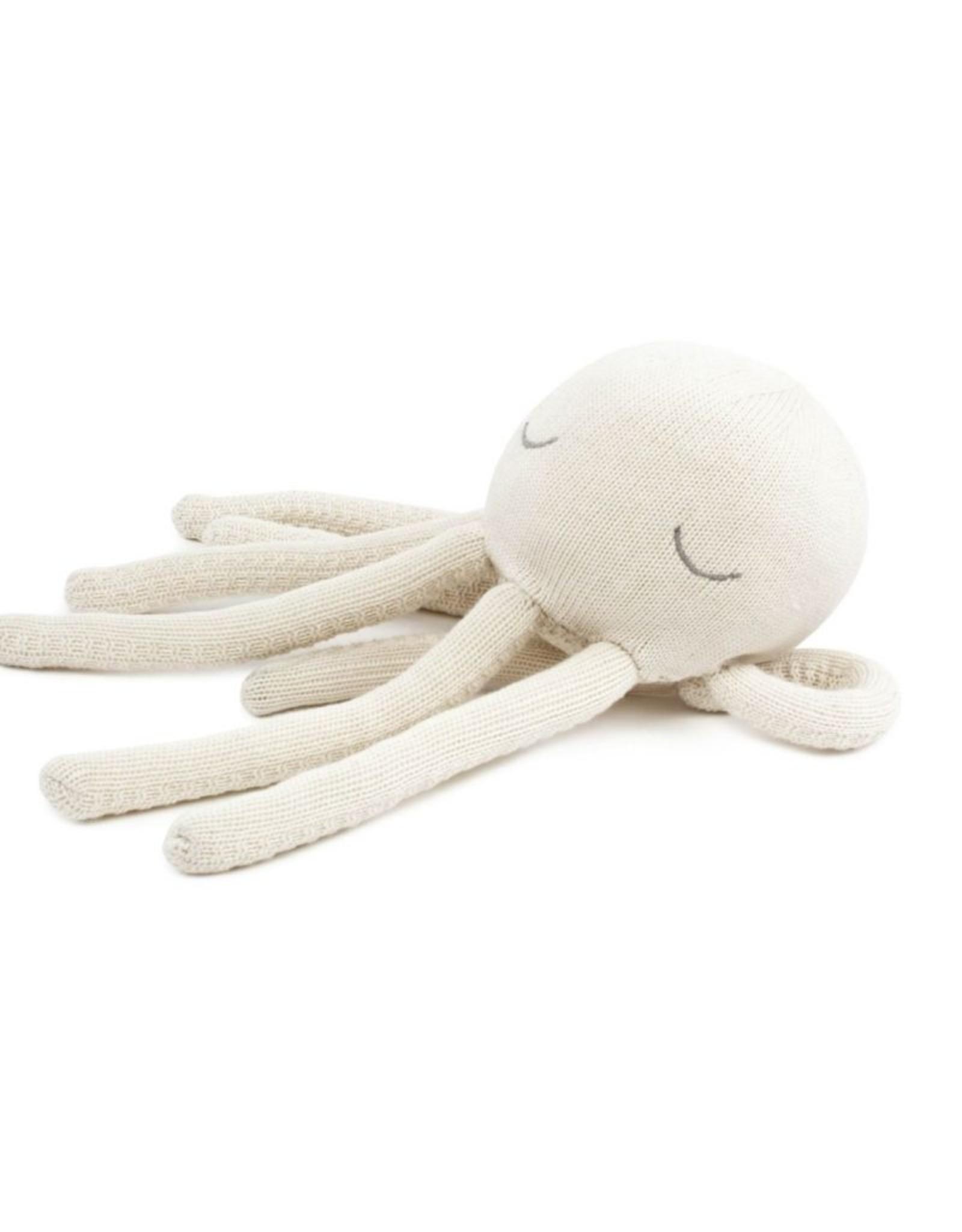 POOFI Poofi - Octopus cuddle toy - cream