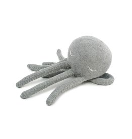 POOFI Poofi - Octopus cuddle toy - Grey