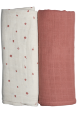 FABELAB Fabelab swaddle - 2 pack - Wild berry
