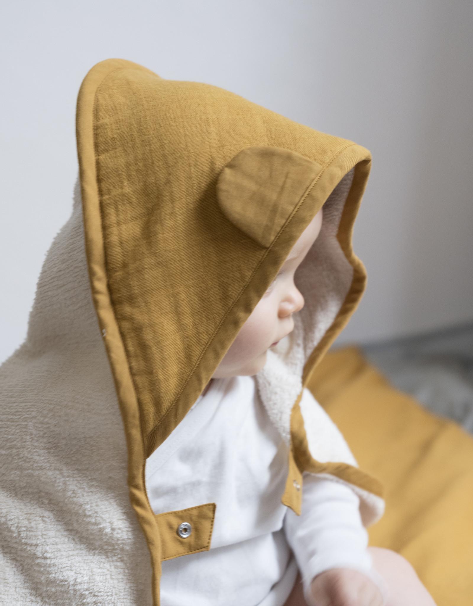 FABELAB Fabelab towel - baby - Ochre