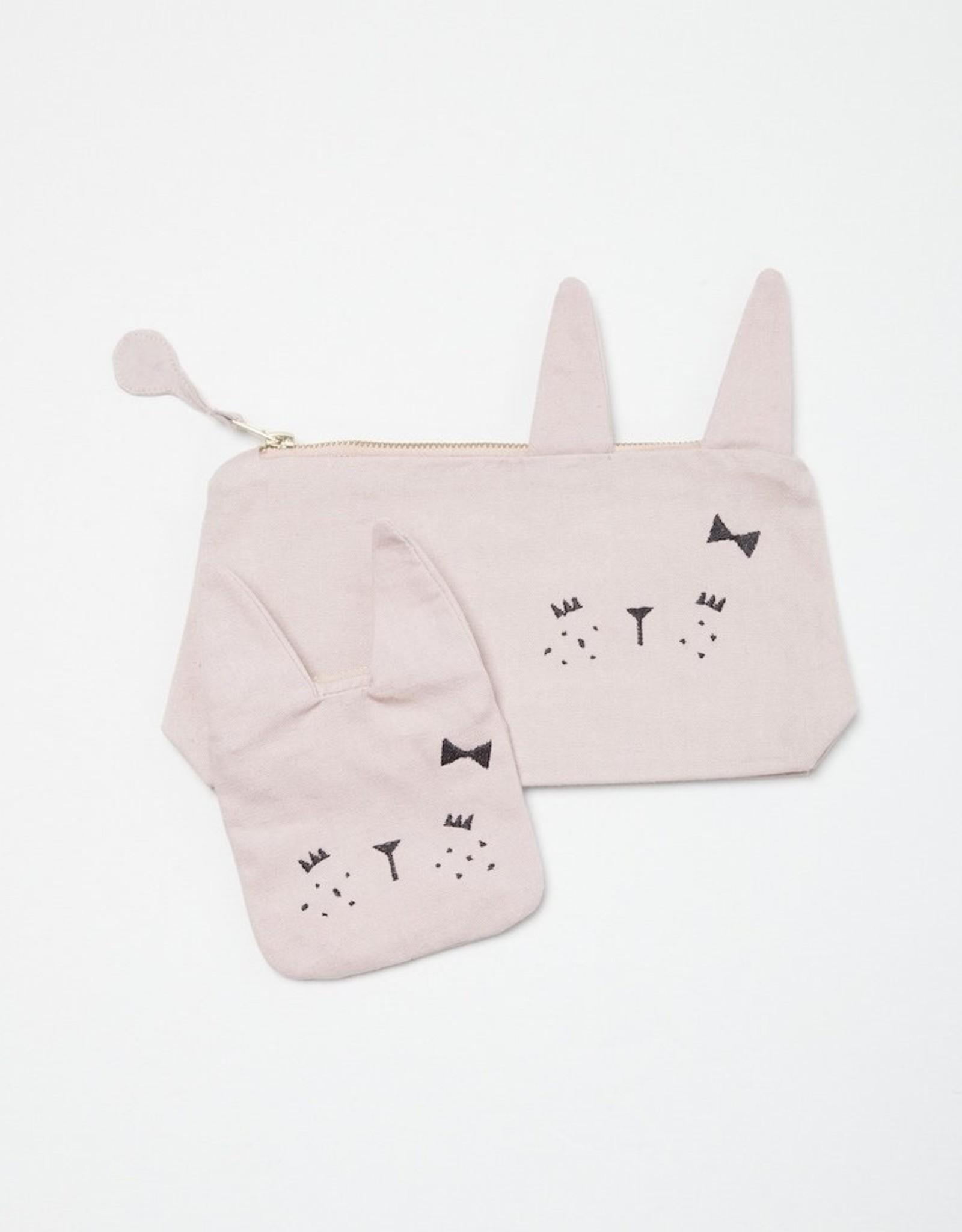 FABELAB Fabelab pencil case - Cute bunny