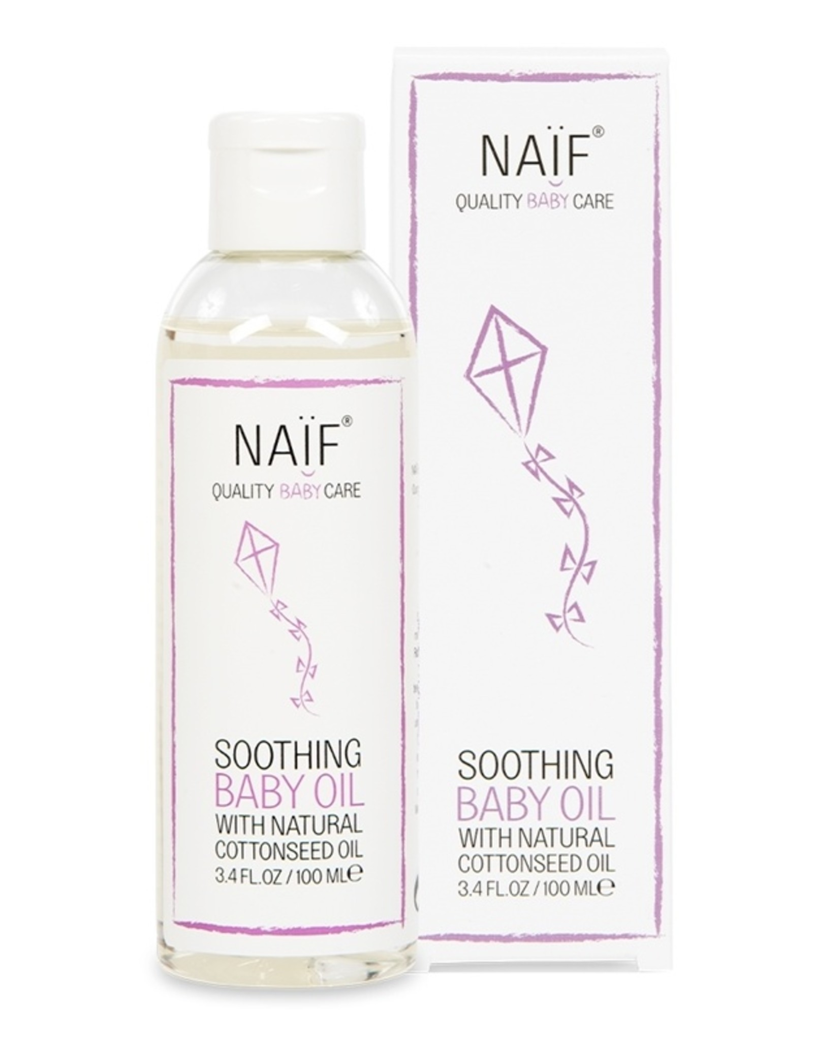 NAIF Naïf - Soothing baby oil