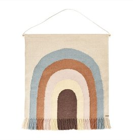 OYOY MINI OYOY - Follow the rainbow wall rug