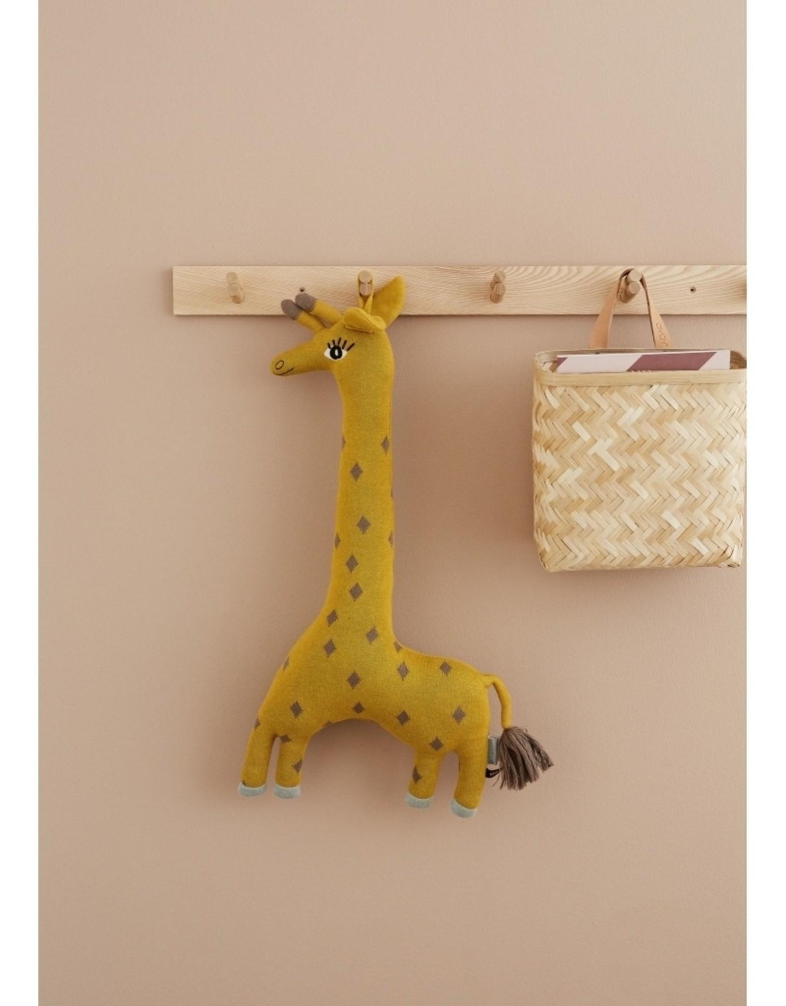 OYOY MINI OYOY - Noah giraffe cushion