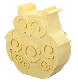 BLAFRE Blafre - Lunch box owl - Light yellow