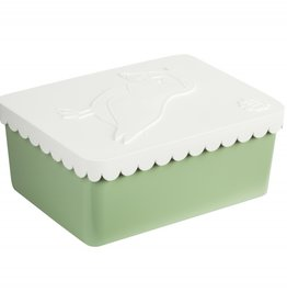 BLAFRE Blafre - Lunch box - Puffin - White + Green