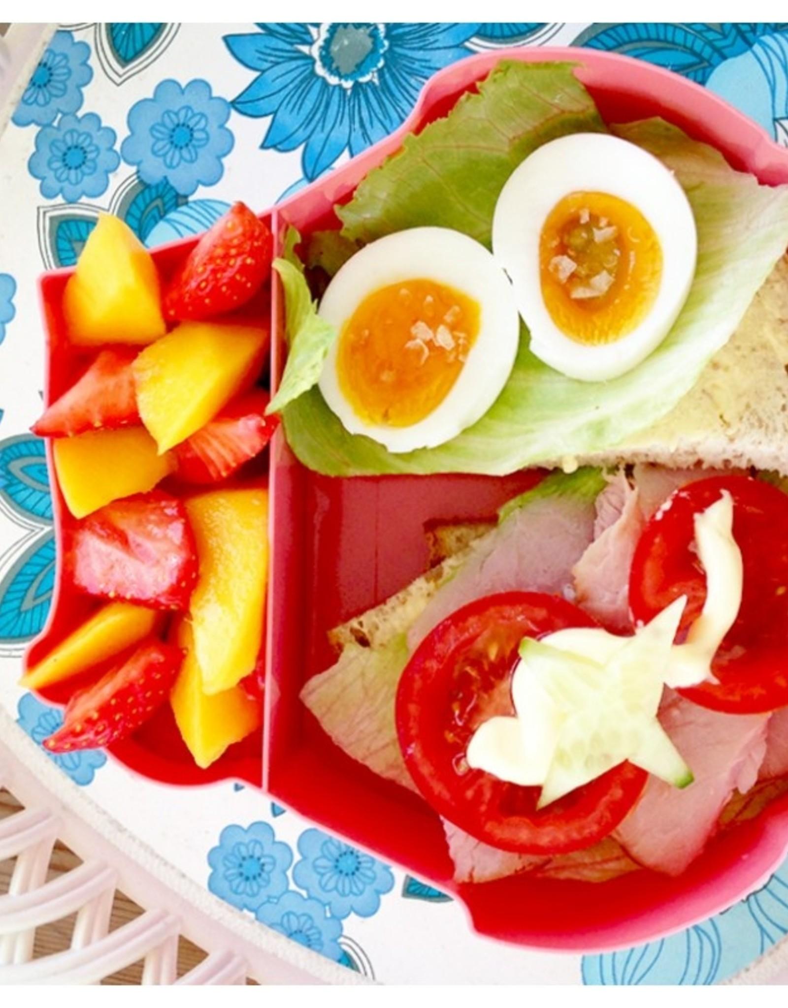 BLAFRE Blafre - Lunch box owl - Pink