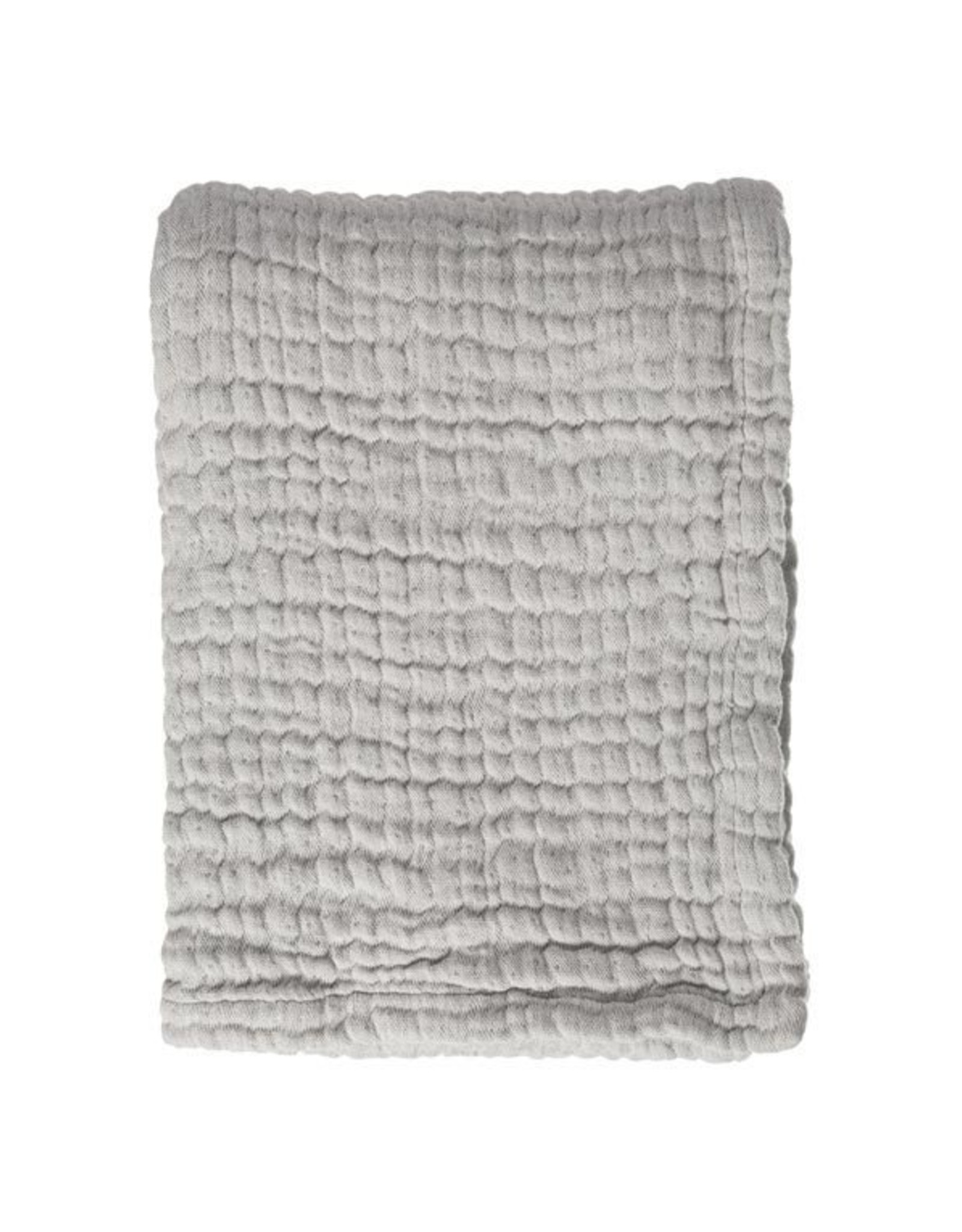 MIES&CO Mies&co - Soft mousseline blanket - Gentle Grey