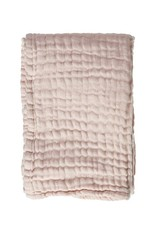 MIES&CO Mies&co - Soft mousseline blanket - Soft pink
