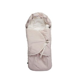MIES&CO Mies&co - Footmuff - Pretty Pearls Chalk -  Pink