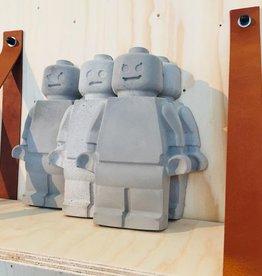 Mr Lego - Beton - Groot