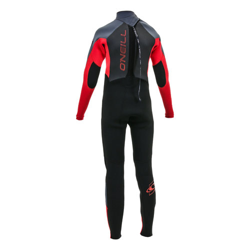 O'Neill O'neill Youth Epic 5/3 Back Zip Black/Red