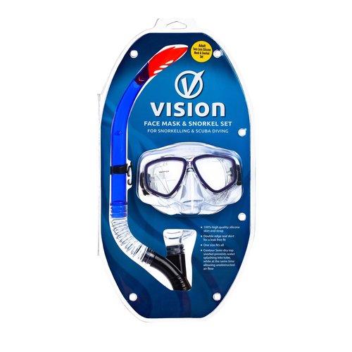 Vision Vision Mask & Snorkel Set