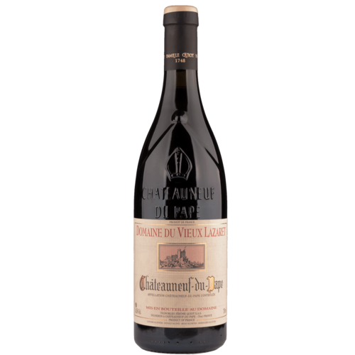Jerome Quiot Chateauneuf Lazaret Rouge